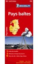 Carte Michelin Pays baltes - 1/500 000