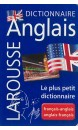 Dictionnaire Larousse français-anglais, anglais-français : le plus petit dictionnaire