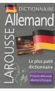 Dictionnaire Larousse français-allemand, allemand-français : le plus petit dictionnaire
