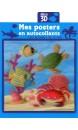 Les animaux de la mer : mes posters en autocollants