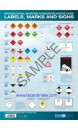 Poster: IMO Dangerous Goods labels, marks and signs
