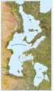 Carte mediterranée Ouest/Est GF