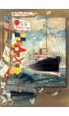 Carnet Affiche Paquebot La Touraine