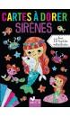 Sirènes : cartes à dorer