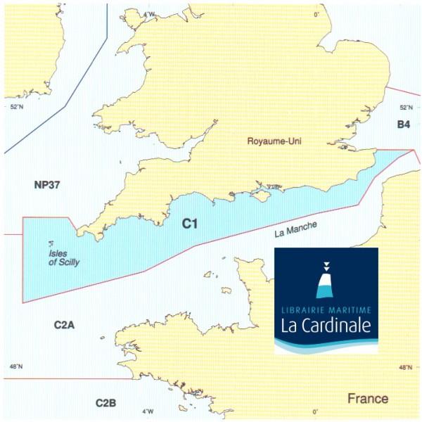 Cote Sud Angleterre instruction nautique c1 - angleterre (côte sud) - librairie maritime